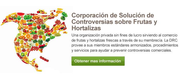 Corporación de Solución de Controversias sobre Frutas y Hortalizas