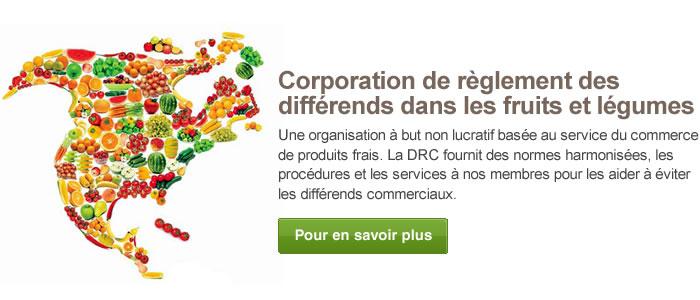 Corporation de règlement des différends dans les fruits et légumes
